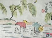 【好名声网】范德昌水墨小品领悟大师画意(一)