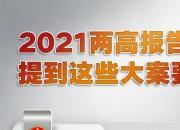 2021年两高报告,提到了这些大案要案